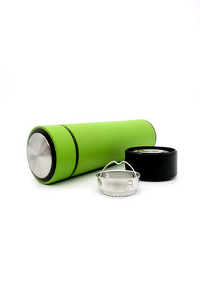 Business Straight Stainless Steel Vacuum Flask 6-12 Hours Insulation