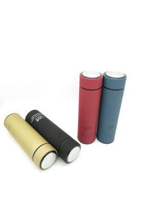 Promotional Business Rubber Thermos Reusable  Customized Logo And Color