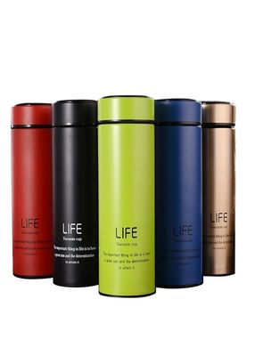 China Hot Cold Water Bottle Stainless Steel Thermal Flask 500l With Rohs Approval factory