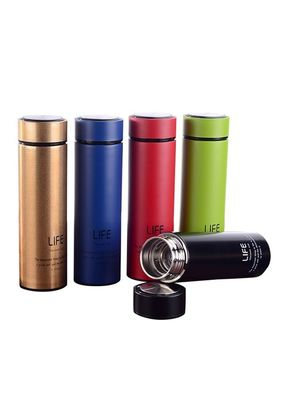 China Double Walled Tumbler Stainless Steel Vacuum Flask Travel Mug With Bpa Free Lid factory