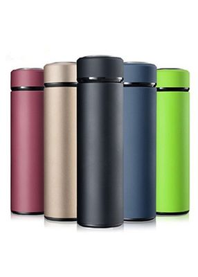 China Thermal Soft Stainless Steel Vacuum Flask Mugs Cups Removable Filter Light Weight factory